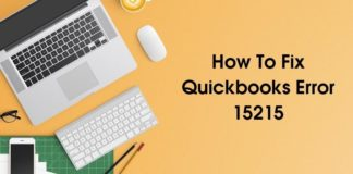 How To Fix Quickbooks Error 15215