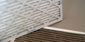 change the home air filter