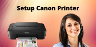 Canon printer without a CD on
